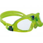 Scuba Diving and Swimming Accessories Thailand - Aqua Sphere Seal Kid 2 Swimming Mask Clear Lens Lime Frame