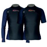 Scuba Diving Rashguards Thailand - Aqua Lung Blue Night Rashvest