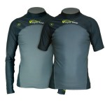 Scuba Diving Rashguards Thailand - Aqua Lung Green Palm Rashvest