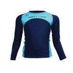 Scuba Diving Rashguards Thailand - AquaLung Blue Marlin Junior Rashvest