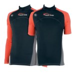 Scuba Diving Rashguards Thailand - Aqua Lung Red Night Rashvest