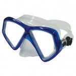 Scuba Diving Masks Thailand - Deep Blue Mako Mask Blue