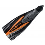 Scuba Diving Adjustable Fins Thailand - Aqua Lung Express Fins Orange