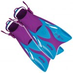 Scuba Diving Adjustable Fins Thailand - Aqua Lung Flame Junior Adjustable Snorkelling Fin Purple