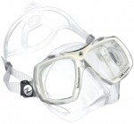 Aqualung Look 2 Scuba Diving Mask White