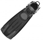 Scuba Diving Adjustable Fins Thailand - Aqua Lung Stratos Adjustable Fins Black