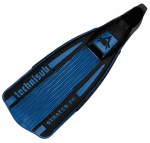 Scuba Diving Adjustable Fins Thailand - Aqua Lung Stratos Fin Blue