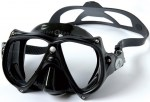 Aqualung Teknika Mask Scuba Diving Mask All Black