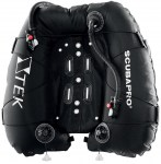 Technical Scuba Diving Equipment Thailand - Scubapro X-Tek Dual Bladder 40kg Horseshoe Wing