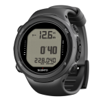 Scuba Diving Computers Thailand - Suunto D4i Black